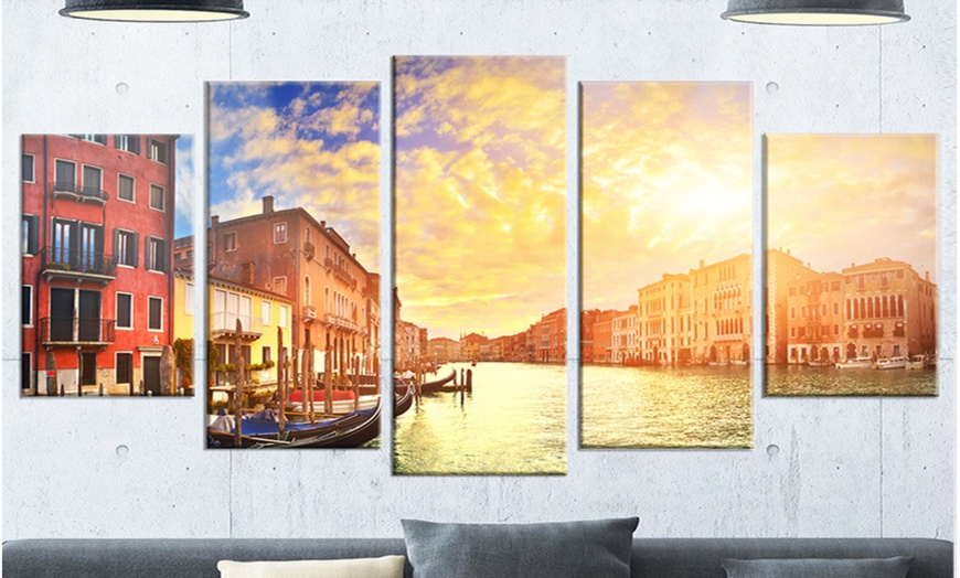 Up To 14 Off On Majestic Sunset Over Venice Groupon Goods