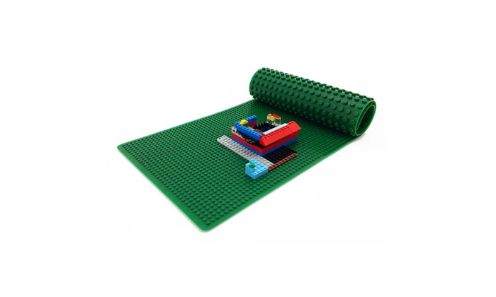 Playscapes Portable Building Brick 2 Sided Lego Play Mat