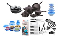 85-Piece Kitchen Starter Set