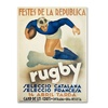 Vintage Apple Collection 'Rugby' Canvas Art