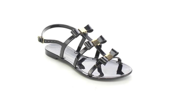Beston BB69 Women's Sling Back T-Strap Chunky Heel Dress Sandals