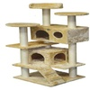 Go Pet Club F2024 Cat Tree Condo Scratcher Post Pet Bed Furniture