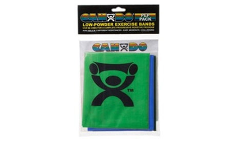 Fabrication Enterprises 10-5382 Cando Exercise Tubing PEP Pack Moderate Green Bl