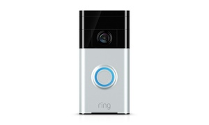 Ring Smartphone-Compatible Wi-Fi Video Doorbell