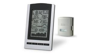 Wireless Indoor and Outdoor Digital Weather Station Clock