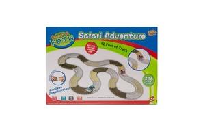 Bend-A Path Safari Adventure 12 Feet Of Track - 246 pc of track