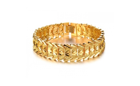 New Charm Link Chain Man Bracelets a8b96577-dafb-4e36-a3b1-fdcfdecb7b88