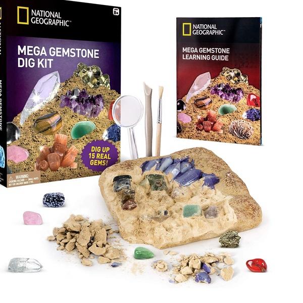 Crystal Gems Digging Kit with Bag