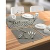 Sorbus Microfiber Drying Reversible Mat Set (3-Pack)