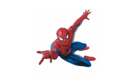 Spiderman Mural Wall Decal Sticker Kids Room Decor 66e1e217-0eee-4954-875c-5e555cae032c