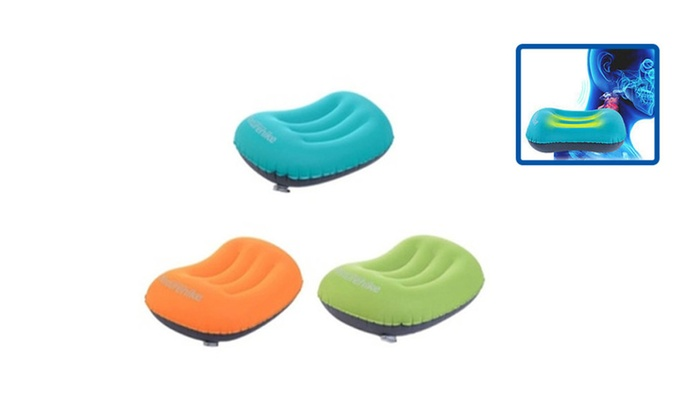 New Ultralight Inflatable Air Pillow Bed Cushion Travel Hiking Camping