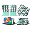 Insten Folio Leather Case For Samsung Galaxy Grand Prime Teal/white
