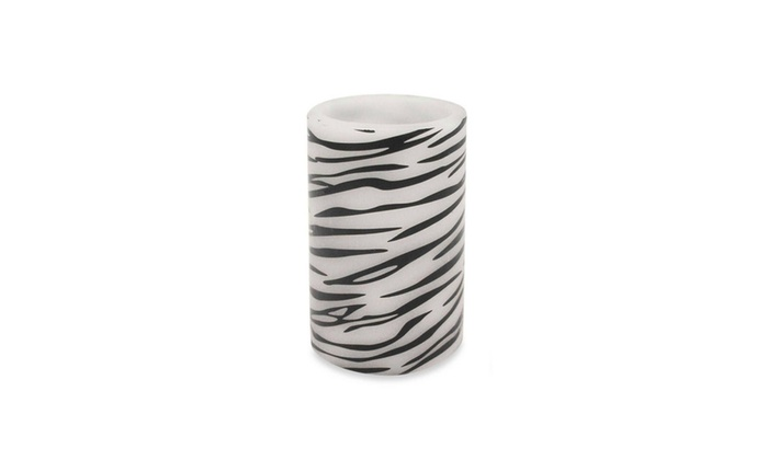 Up To 13 Off On 675 Zebra Print Bo Flamele Groupon Goods