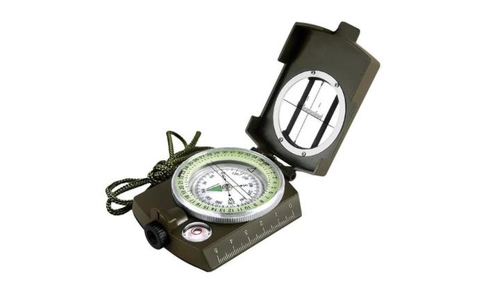 Optical Lensatic Sighting Compass Waterproof For Outdoor Activities