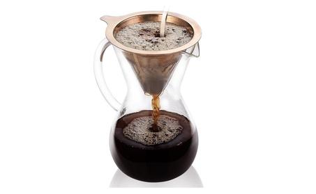Pour Over Coffee Maker,5 Cup (27 oz/800ml) Hand Manual Coffee Dripper 5edc8e77-5e17-4e24-8e4b-c334446c28fc