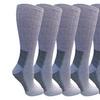 6 Pairs Merino Wool Socks for Women, Hiking Backpacking Thermal Socks