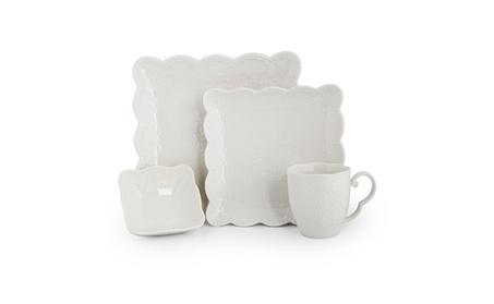 Porcelain Dinnerware Set of 4 DW-LS4