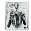Lawrence Frames 750180  Brushed Silver Plated 8x10 Metal Picture Frame