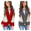 Women's Lightweight Criss Cross Cardigans Top Blouse