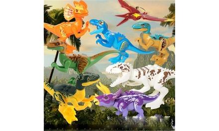 Dinosaur Toys Building Blocks(8 PCS) Was: $16.99 Now: $2.99.