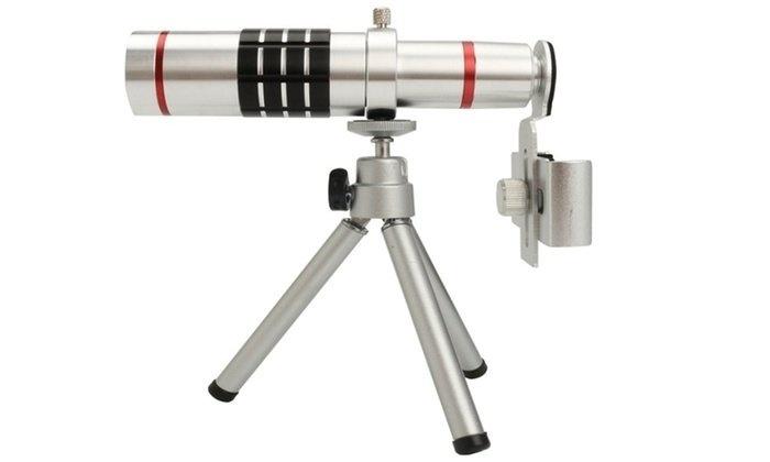 Zoom universal mobile phone telescope long focal camera lens