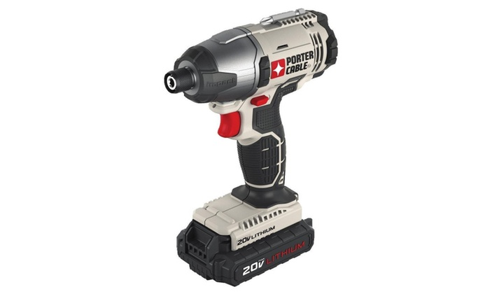 Porter-Cable Pcc641lb Lithium Ion Hex Head Compact Impact Driver Kit