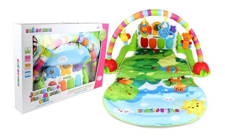 Jungle Friends Musical Rainbow Baby Gym Activity Toy Mat 929c562f-ef5b-4772-86a4-8f129a694b0f