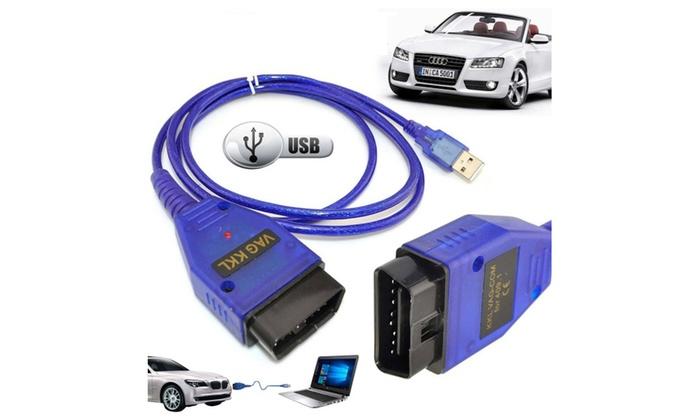 VAG-COM KKL 409 1 OBD2 USB Cable Scanner Tool Audi VW SEAT