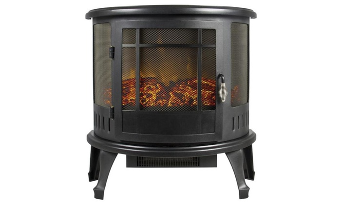 Parliamente: Electric Fireplace Stove 1500W Space Heater Realistic Flame