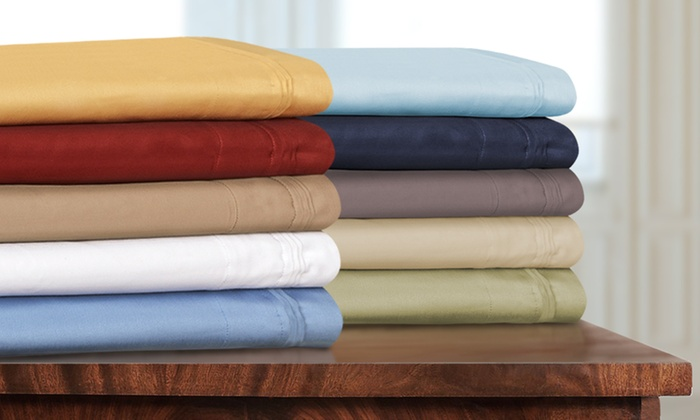 1000 TC Egyptian Cotton 8,10,12,15 Inch Deep Pocket Ivory Solid Bedding Items
