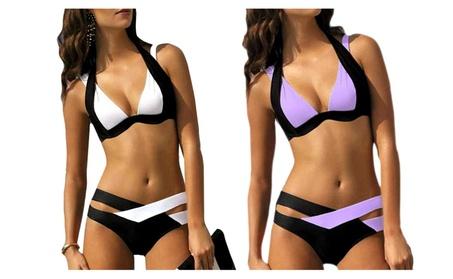 Sexy Women Bikini Set Bandage Push Up Padded Swimwear 77cc3d7f-64ee-4b62-8392-cb545cf177a2