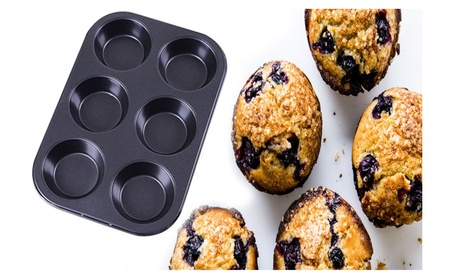 Stainless Steel Mini Muffin Pan 6 12 24 Cups Cake 928ab71e-f4a7-45ca-8361-8d3487682c38
