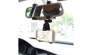 Eye Level GPS and Smartphone Rear View Mirror Mount