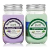 Soy aromatherapy candles. Chamomile Lavender + Spearmint Eucalyptus
