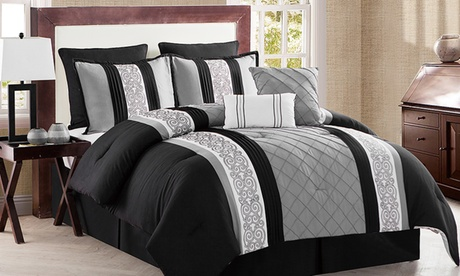 Farion Pleated 8-PIece Comforter Set 52e4f925-0b95-4ce5-9223-8ce23b56762a