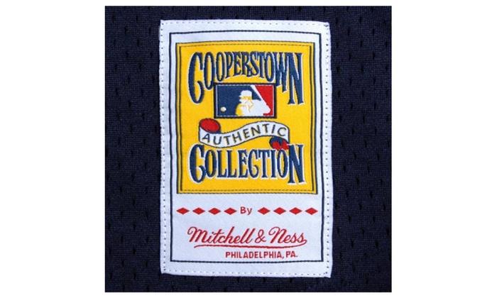 low cost d8435 b5e05 Mens Yankees Bernie Williams Cooperstown Mesh Batting ...