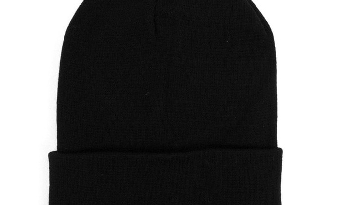 be9fecb0466 ... 3 Pack Thermal Windproof Winter Black Beanie Hat