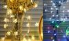 3/6/10M String Lights Snowflake Xmas Tree Christmas Party Home Warm Lamp Decor