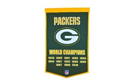 Winning Streak Sports 77010 Green Bay Packers Banner 29f01715-7803-4ed1-a44c-cc9e91232f10
