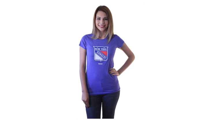 NHL Team Shirts for Her Sizes S to L