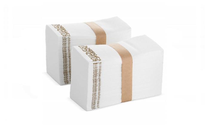 BloominGoods Disposable Hand Towels & Decorative Bathroom Napkins