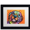 Dean Russo 'Galle' Matted Black Framed Art