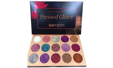 Beauty Glazed 15 Colors Glitter Eyeshadow Palette 513bcb30-b26b-470e-a569-09c6f3605d67