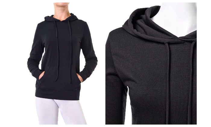 52% Off on Lightweight Cotton Pullover H... | Groupon Goods
