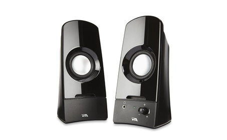 Computer speakers, a powerful 2.0 desktop speaker system from Cyber e93f54c3-91b2-43bc-8171-88440a1a2334
