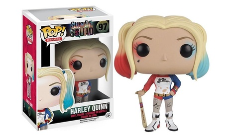 Funko Pop Heroes Suicide Squad Harley Quinn Vinyl Action Figure Toy #97 3fd15183-51ed-42ee-9d4a-9ba7d5db158c