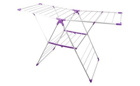 Bonita CD11-40PU Geant Clothes Dryer Stand In Rich Plum photo