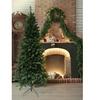 Astella 7' Hinged Artificial Christmas Pine Tree w/ Solid Metal Legs & 855 tips