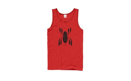 DDLE Marvel Spider-Man Homecoming Logo Mens Graphic Tank Top c91dcee4-12a1-4b53-b3ae-105b4f75522f