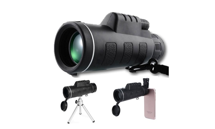 Up to off on zoom optical lens monocular t groupon goods